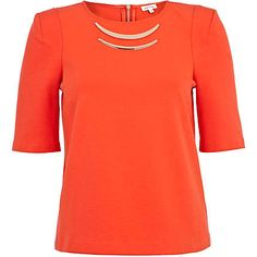 Red half sleeve top £30.00 Eid, Half Sleeves, Long Sleeve, Mens Tops, T Shirt, How To Wear, Inspiration, Women, Fashion