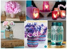 If you are thinking of incorporating mason jars into the decor of your wedding design, there are so many fun and creative ways to use these adorable pieces