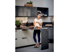 SPRING URBAN Cuisine avec barre Collection Spring Urban by DIBIESSE