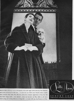 Dorian Leigh, November Vogue 1956