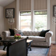 My Houzz: Gurfinkel - transitional - living room - dallas - Angela Flournoy