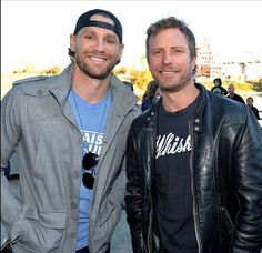 Chase Rice and Dierks Bentley