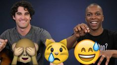 We had @DarrenCriss and @LeslieOdomJr make up songs based on emoji, and they crushed it: http://on.mash.to/1OyAITz