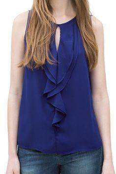 Mulheres popular casual solto chiffon blusa tanque de patchwork sem mangas simples de grande womenblusas