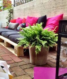 sofa buiten