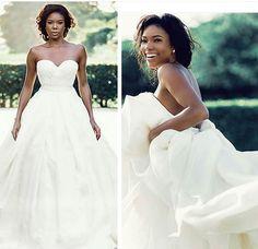 Gabrielle and dwaynes wedding gabrielle union wedding dress and gabrielle and dwaynes wedding gabrielle union wedding dress and wedding junglespirit Images
