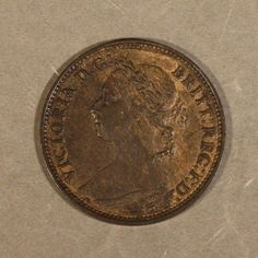 Coin: 1881 H Great Britain 1 Farthing Higher Grade  Free U.S Shipping