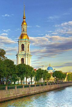 Cathedral of St Nicolás, St Petersburg, Russia