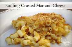 Stuffing Crusted Mac And Cheese