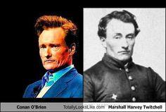 Time Traveling Celebrities  - Conan