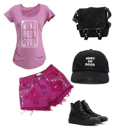 """simple outfit"" by marsia-fashion on Polyvore featuring David King & Co., Converse and Blackfist"