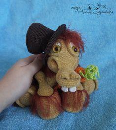Foal sulla descrizione di Ludmila Surganova (Lus_en) - I miei giocattoli - Gallery - ammiratori amigurumi (giocattoli maglia)