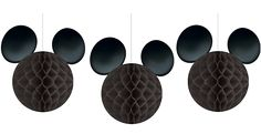 Mickey Mouse Honeycomb Decorations