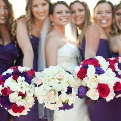 A Gorgeous Pink & Purple Spanish Hills Country Club Wedding.