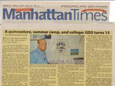 GDS, Camp Excel Manhattan Times, 2012