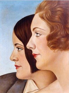 Christian Schad. Friends, 1930