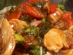 Chicken Stir-Fry Recipe : sub arrowroot for cornstarch and braggs aminos for soy suace