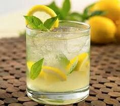 2 Parts Silver (white) Tequilia 1 Part premium triple sec Lemon 3 Basil leaves Part simple syrup Club soda Muddle lemon, basil and . Refreshing Drinks, Summer Drinks, Fun Drinks, Beverages, Cold Drinks, Basil Cocktail, Cocktail Ideas, Vodka Lemonade, Mint Lemonade