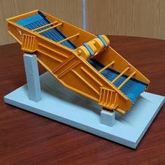 Vibramech Screen 3D Print Model 3d Printing, Prints, Model, Impression 3d, Scale Model, Printed, Pattern, Models