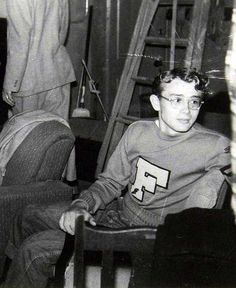 A 19 year old James Dean at Santa Monica City College