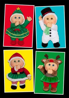 Holiday Helper Cabbage Patch Kid Cuties are at BabyLand General Hospital in Cleveland, Ga.