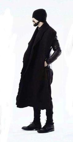 Male fashion modern future