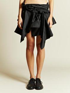 Ann Demeulemeester Women's Aspect Skirt | LN-CC