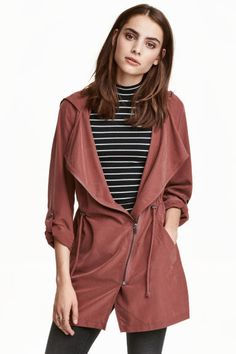 Parka with hood | H&M