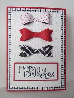 Bow Builder Punch Happy Birthday