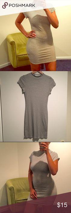 Selling this 🤓 Pinstripe For Daysss Dress 🤓 on Poshmark! My username is: cindylbb. #shopmycloset #poshmark #fashion #shopping #style #forsale #Stella Luce #Dresses & Skirts