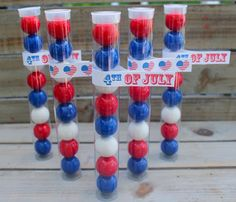 bloom designs: Party Favors- Gum Ball Tubes
