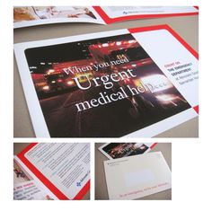 Emergency Room Direct Mail by Terri Taylor at Coroflot.com