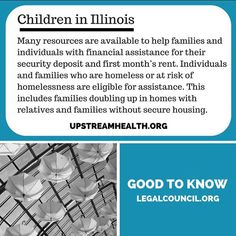Let's get #families and #children #healthy! #Housing aid can help those who are #homeless or at risk of losing housing. #LegalCouncil #health #justice #advocacy #nonprofit #medical #legal #UpStreamHealth #Chicago