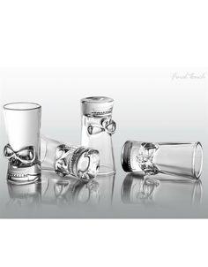 Brainfreeze Shot Glass - Set of 4