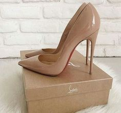 zilanb:  These are my favorite Louboutin shoes #beige #brand #cash #chanel #chic #christianlouboutin #classy #dior #fashion #girl #heel #louboutin #luxury #money #neutral #Nude #paris #rich #shoes #stiletto #style