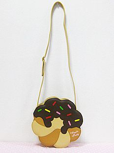 Angelic Pretty Donut Shoulder Bag (in Chocolate)