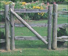 10 Easy Pieces: Wooden Garden Gates Gardenista