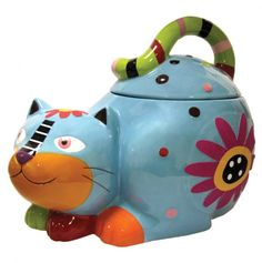 Cozy Cat Cookie Jar