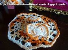 Vestido dA Bela e a Fera em Crochê Para Bonecas com Passo a Passo de Pecunia MillioM 12