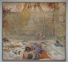 Pierre Bonnard, On the Boat, 1907. Oil on canvas (1867-1947) Musée d'Orsay, Paris