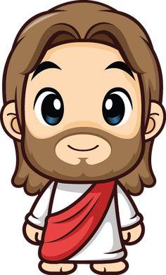 Jesus Christ Painting, Jesus Artwork, Jesus Cartoon, Jesus Drawings, I Love You God, Bible Crafts For Kids, Bible Activities, Christmas Drawing, Jesus Pictures