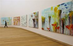 cy twombly gallery | Cy Twombly photographed at the Louvre in Paris in March, 2010 Photo ...