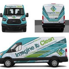 Create appealing and engaging van wrap for my Commercial Cleaning business. We are a commercial cleaning company offering janitorial and maintenance services. We do all sorts of commercial clea. Van Signage, Shop Signage, Signage Design, Commercial Cleaning Company, Commercial Vehicle, Vehicle Signage, Vehicle Branding, Mercedes Van, Car Lettering