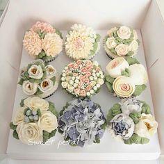 #flowercake #korea #flower #cake #buttercream #sweetpetal