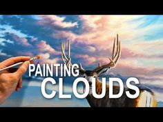 How To Paint Beautiful Clouds - YouTube