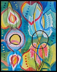 "Saatchi Online Artist: Alexandra Ackerman; Watercolor 2013 Painting ""Untitled"""