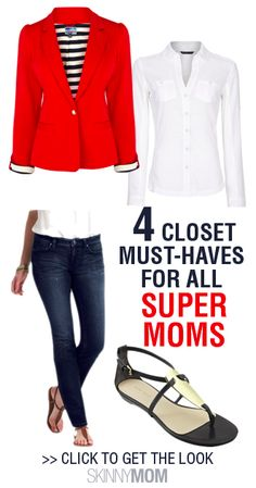 Get the Skinny on 4 Closet Must-Haves For All Super Moms!!!!