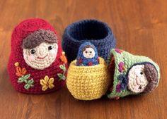 Nesting Dolls CAL: Matryoshka Pattern