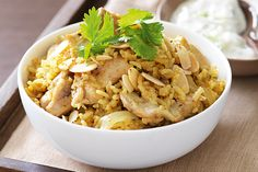 How do you cook chicken biriyani? get instruction detail. Our Chicken biriyani recipe is a great simple meal for winter weeknights. Curry Recipes, Diet Recipes, Chicken Recipes, Cooking Recipes, Recipies, Chicken Meals, Cooking Ideas, Soup Recipes, Food Ideas