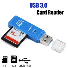 Adroit Card Reader 5Gbps Super Speed Mini USB 3.0 Micro SD/SDXC TF Adapter Wholesale 28S7530 drop shipping #Affiliate
